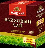 Чай чёрный Майский Байховый пакетированный 100 шт 901164