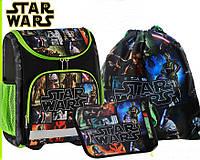 Школьный набор рюкзак+пенал +сумка для обуви  Star Wars