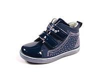 Детские демисезонные ботинки Clibee TS-F-584 Синий (Размеры: 25-30)