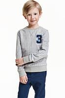 красивый пуловер для мальчика фирмы H&M 2-4 (98-104 см)