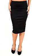 Юбка Француженка длинная (2цв), юбка прямая, юбка карандаш, черная юбка, для офиса, для школы, дропшиппинг