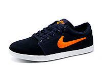 Кроссовки Nike, мужские, темно-синие с оранжевым, р. 42 43 44 45 46, фото 1