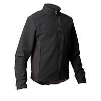 Куртка мужская велосипедная, ветрозащитная Btwin 300 черная
