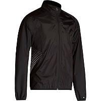 Куртка мужская велосипедная, ветрозащитная Btwin 500 черная