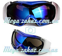Маска горнолыжная/лыжные очки Spyder Pro с двойным стеклом: синяя (Blue)