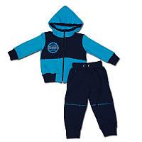 Детский теплый спортивный костюм для мальчика 1год, рост 80
