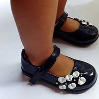 Туфли кожаные детские на девочку ортопедические