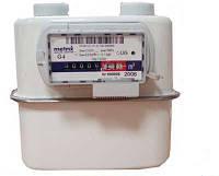 Газовый счетчик Метрикс G2,5 (UG2,5): циклический объем 2,2 дм³, емкость 99999,999 м³, 2,5-4 м³/ч