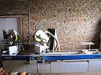 Линия рамочных фасадов: усозарезной станок Woodmaster 300 + сборочный пресс CP4 бу