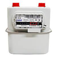 Газовый счетчик G 1,6 мембранный Metrix: 0,016-2,5 м³/час, циклический объем 1,2 дм³, 50 кПа
