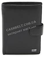 Мужское кожаное прочное стильное портмоне бумажник с отделением для документов H.Verde art. 8176N