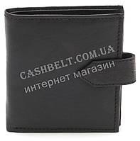Компактный практичный кожаный мужской кошелек BENZER art.54140 черного цвета