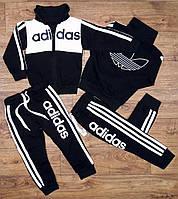 Спортивный костюм Adidas на мальчика,белый