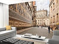 "Фото обои ""Архитектура улиц"", Фактурная текстура (холст, иней, декоративная штукатурка)"
