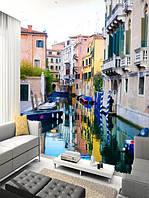 """Фото обои """"Венеция"""", Фактурная текстура (холст, иней, декоративная штукатурка)"""