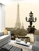 "Фото обои ""Париж"", Фактурная текстура (холст, иней, декоративная штукатурка)"