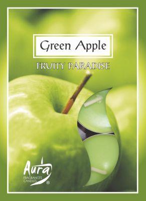 """Свечи ароматические чайные """" Зеленое яблоко """""""