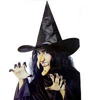 Костюм Ведьмы - в наборе 5 предметов для идеального образа - костюм на хэллоуин!