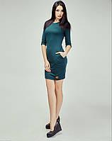 Облегающее платье длиной выше колен