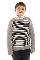 Джемпер для мальчика Tashkan Реглан полоска