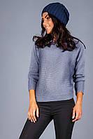 Модный джемпер цвета индиго, фото 1