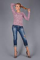 Пуловер слегка приталенный силуэта, фото 1