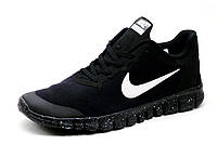 Кроссовки Nike Free 3.0, мужские, черные с белым, р. 41 44 45, фото 1