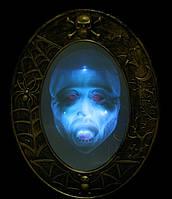 Зеркало настенное, реагирует на отражение -появляется изображение говорящее - декор на хэллоуин