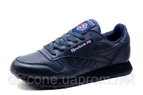 Кроссовки Reebok Classic, синие, мужские