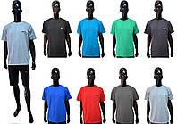 Мужская футболка Nike 156-76 светло-серого цвета БАТАЛ!!!