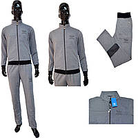 Мужской костюм Adidas 0009-9 цвет - светло-серый НОВИНКА