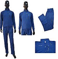 Мужской костюм Adidas Porsche 3204-02 светло-синего цвета