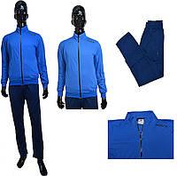 Мужской костюм Adidas Porsche катон 003-03 голубого цвета