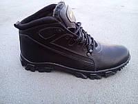 Мужские кожаные зимние ботинки больших размеров 46-50 р-р