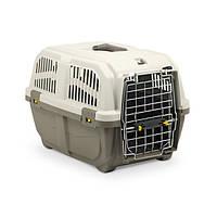 Переноска для кошек и собак Skudo.Grey 48*31.5*31 h, вес до 12 кг,