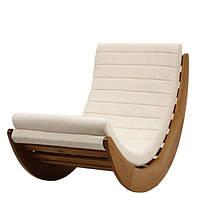 Кресло качалка «Moon»,алоба белый