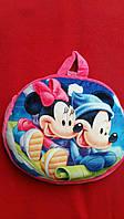 Веселый детский рюкзак-подушка