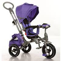Детский трехколесный велосипед от 2-х лет Turbo Trike M 3203HA-1 (Фиолетовый)