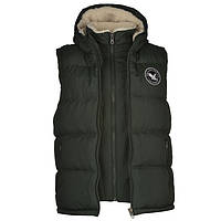 Жилетка SoulCal Two Zip Gilet Mens