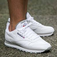 "Кроссовки мужские Reebok Classic Leather ""White"""