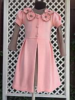 "Платье с кардиганом ""Цветок"" 2, размеры 104 - 128 см"