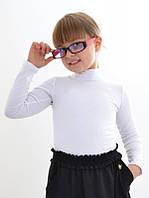 Детский гольф для девочки трикотажный школьный
