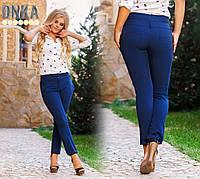 Женские летние брюки прямые 42-52