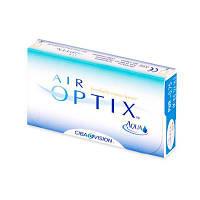 Месячные силикон-гидрогелевые контактные линзы Air Optix Aqua, упаковка 3 шт., lotrafilcon B 33%