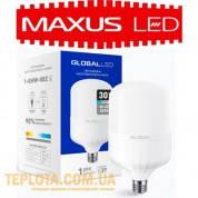 Светодиодная промышленная лампа Maxus LED Global HW E27 30W 6500K 2550lm (1-GHW-002)