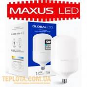 Светодиодная промышленная лампа Maxus LED Global HW E27 50W 6500K 4300lm (1-GHW-006-1)
