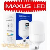 Светодиодная промышленная лампа Maxus LED Global HW E27 40W 6500K 3300lm (1-GHW-004)