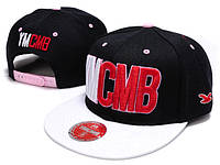 Кепка YMCMB Snapback Black-White-Red