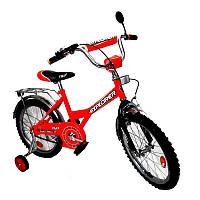 Велосипед EXPLORER 16 дюймов BT-CB-0028 красный с черным
