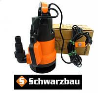 Насос для чистой и грязной воды 750 Вт Schwarzbau Q1DP